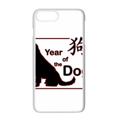 Year Of The Dog   Chinese New Year Apple Iphone 7 Plus Seamless Case (white)