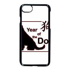 Year Of The Dog   Chinese New Year Apple Iphone 7 Seamless Case (black)