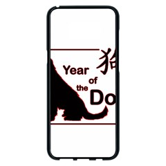 Year Of The Dog   Chinese New Year Samsung Galaxy S8 Plus Black Seamless Case