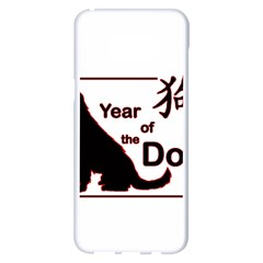 Year Of The Dog   Chinese New Year Samsung Galaxy S8 Plus White Seamless Case