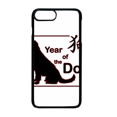 Year Of The Dog   Chinese New Year Apple Iphone 8 Plus Seamless Case (black)