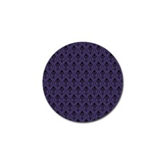 Color Of The Year 2018   Ultraviolet   Art Deco Black Edition Golf Ball Marker (10 Pack)