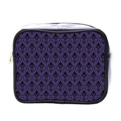 Color Of The Year 2018   Ultraviolet   Art Deco Black Edition Mini Toiletries Bags