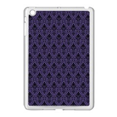 Color Of The Year 2018   Ultraviolet   Art Deco Black Edition Apple Ipad Mini Case (white)