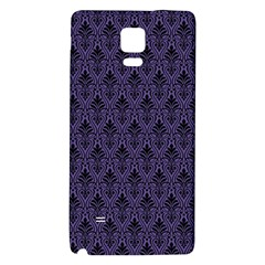 Color Of The Year 2018   Ultraviolet   Art Deco Black Edition Galaxy Note 4 Back Case