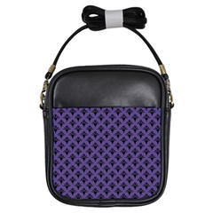 Color Of The Year 2018   Ultraviolet   Art Deco Black Edition  Girls Sling Bags