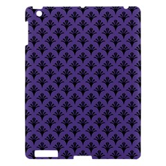 Color Of The Year 2018   Ultraviolet   Art Deco Black Edition  Apple Ipad 3/4 Hardshell Case