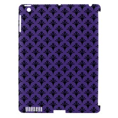 Color Of The Year 2018   Ultraviolet   Art Deco Black Edition  Apple Ipad 3/4 Hardshell Case (compatible With Smart Cover)
