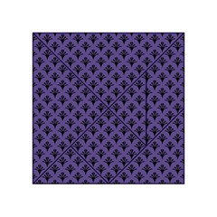 Color Of The Year 2018   Ultraviolet   Art Deco Black Edition  Acrylic Tangram Puzzle (4  X 4 )