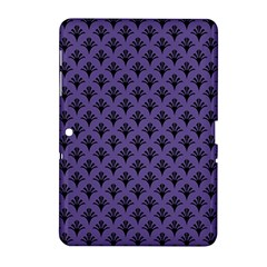 Color Of The Year 2018   Ultraviolet   Art Deco Black Edition  Samsung Galaxy Tab 2 (10 1 ) P5100 Hardshell Case
