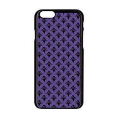 Color Of The Year 2018   Ultraviolet   Art Deco Black Edition  Apple Iphone 6/6s Black Enamel Case