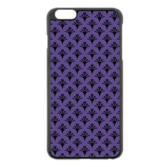 Color Of The Year 2018   Ultraviolet   Art Deco Black Edition  Apple Iphone 6 Plus/6s Plus Black Enamel Case