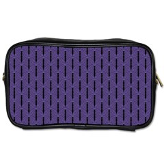 Color Of The Year 2018   Ultraviolet   Art Deco Black Edition Toiletries Bags 2 Side