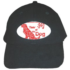 Year Of The Dog   Chinese New Year Black Cap