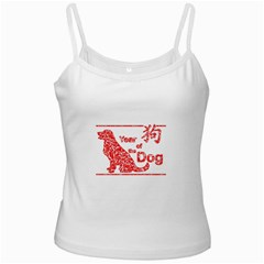 Year Of The Dog   Chinese New Year Ladies Camisoles