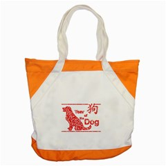 Year Of The Dog   Chinese New Year Accent Tote Bag