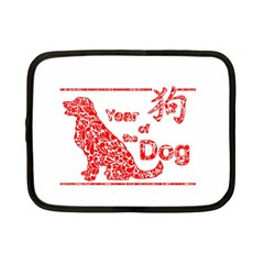 Year Of The Dog   Chinese New Year Netbook Case (small)