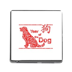 Year Of The Dog   Chinese New Year Memory Card Reader (square)