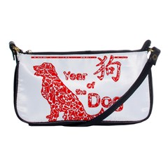 Year Of The Dog   Chinese New Year Shoulder Clutch Bags