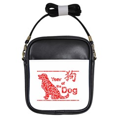 Year Of The Dog   Chinese New Year Girls Sling Bags
