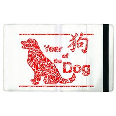 Year Of The Dog   Chinese New Year Apple Ipad 2 Flip Case