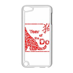 Year Of The Dog   Chinese New Year Apple Ipod Touch 5 Case (white)