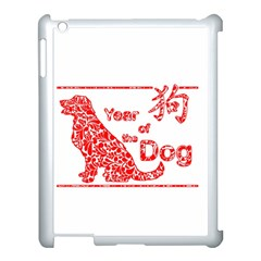 Year Of The Dog   Chinese New Year Apple Ipad 3/4 Case (white)