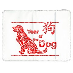 Year Of The Dog   Chinese New Year Samsung Galaxy Tab 7  P1000 Flip Case