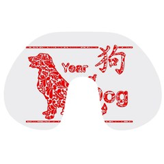 Year Of The Dog   Chinese New Year Travel Neck Pillows