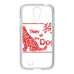 Year Of The Dog   Chinese New Year Samsung Galaxy S4 I9500/ I9505 Case (white)