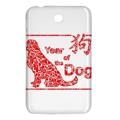 Year Of The Dog   Chinese New Year Samsung Galaxy Tab 3 (7 ) P3200 Hardshell Case
