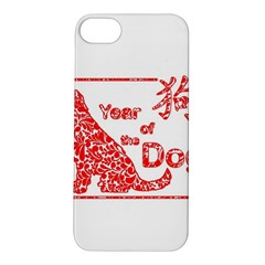 Year Of The Dog   Chinese New Year Apple Iphone 5s/ Se Hardshell Case