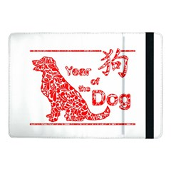 Year Of The Dog   Chinese New Year Samsung Galaxy Tab Pro 10 1  Flip Case