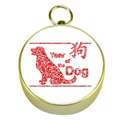 Year Of The Dog   Chinese New Year Gold Compasses