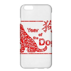 Year Of The Dog   Chinese New Year Apple Iphone 6 Plus/6s Plus Hardshell Case
