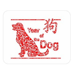 Year Of The Dog   Chinese New Year Double Sided Flano Blanket (large)