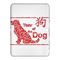 Year Of The Dog   Chinese New Year Samsung Galaxy Tab 4 (10 1 ) Hardshell Case