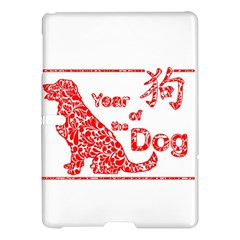 Year Of The Dog   Chinese New Year Samsung Galaxy Tab S (10 5 ) Hardshell Case
