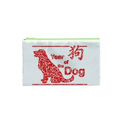 Year Of The Dog   Chinese New Year Cosmetic Bag (xs)