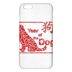 Year Of The Dog   Chinese New Year Iphone 6 Plus/6s Plus Tpu Case