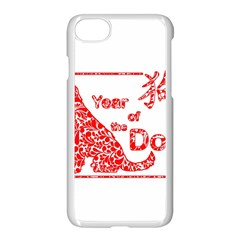 Year Of The Dog   Chinese New Year Apple Iphone 7 Seamless Case (white)