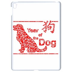 Year Of The Dog   Chinese New Year Apple Ipad Pro 9 7   White Seamless Case