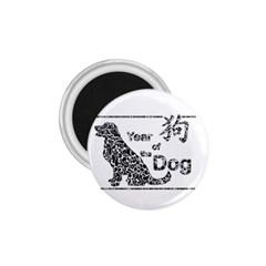 Year Of The Dog   Chinese New Year 1 75  Magnets