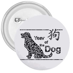 Year Of The Dog   Chinese New Year 3  Buttons