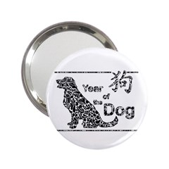 Year Of The Dog   Chinese New Year 2 25  Handbag Mirrors