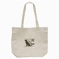 Year Of The Dog   Chinese New Year Tote Bag (cream)