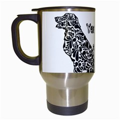 Year Of The Dog   Chinese New Year Travel Mugs (white)
