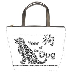 Year Of The Dog   Chinese New Year Bucket Bags