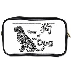 Year Of The Dog   Chinese New Year Toiletries Bags 2 Side