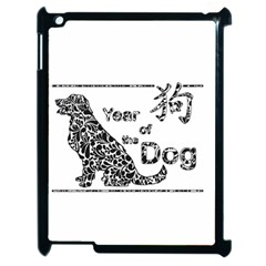 Year Of The Dog   Chinese New Year Apple Ipad 2 Case (black)